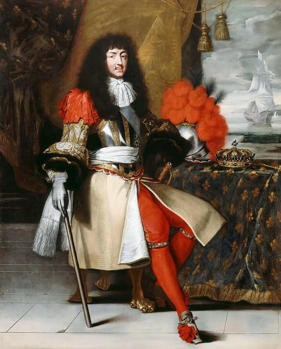 Клод Лефевр (?). Портрет короля Людовика XIV