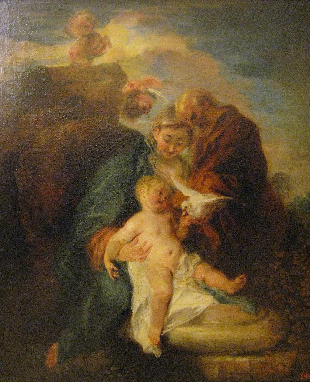 Антуан Ватто. Отдых на пути в Египет. 1719 (?)
