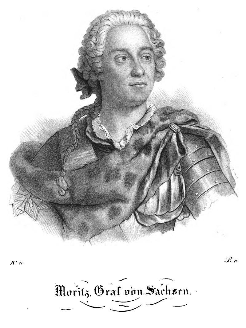 Граф Морис Саксонский