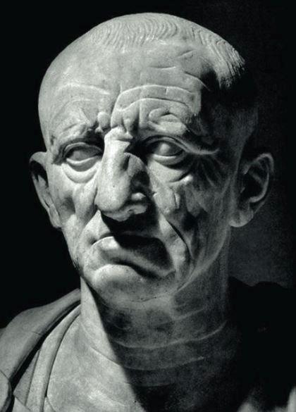 Бюст римлянина из Отриколи, который традиционно отождествляют с Катоном Старшим. 80-е годы до н. э.