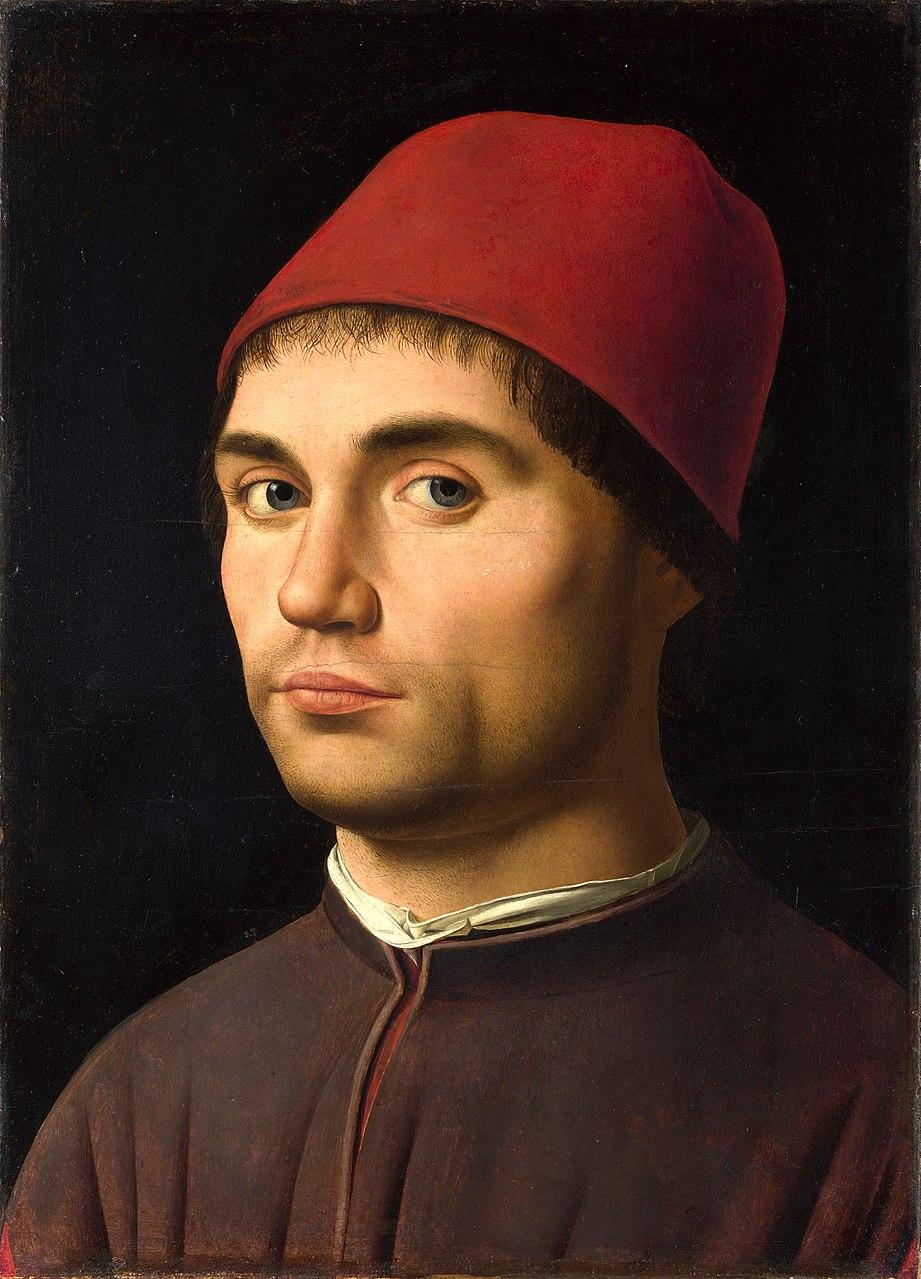 Антонелло да Мессина. Портрет мужчины (Автопортрет ?)