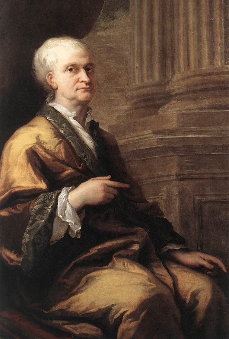Джеймс Торнхилл. Портрет сэра Исаака Ньютона. 1712