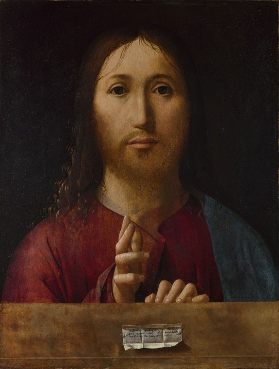 Антонелло да Мессина. Спаситель Мира. ок.1465
