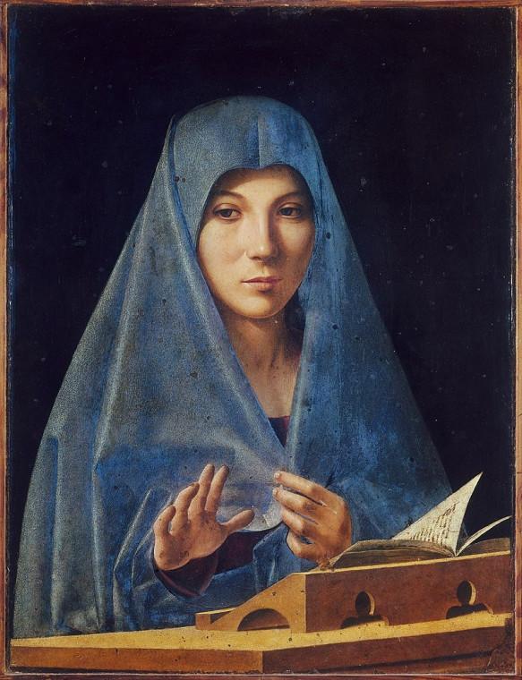 Антонелло да Мессина. Мария Анунциата ди Палермо. 1475