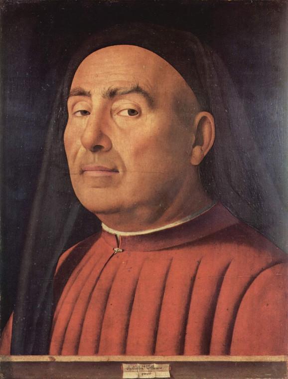 Антонелло да Мессина. Портрет Тривульцио. ок. 1476
