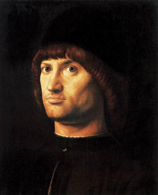 Антонелло да Мессина. Кондотьер. ок.1475