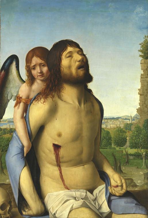 Антонелло да Мессина. Пьета. 1476-78