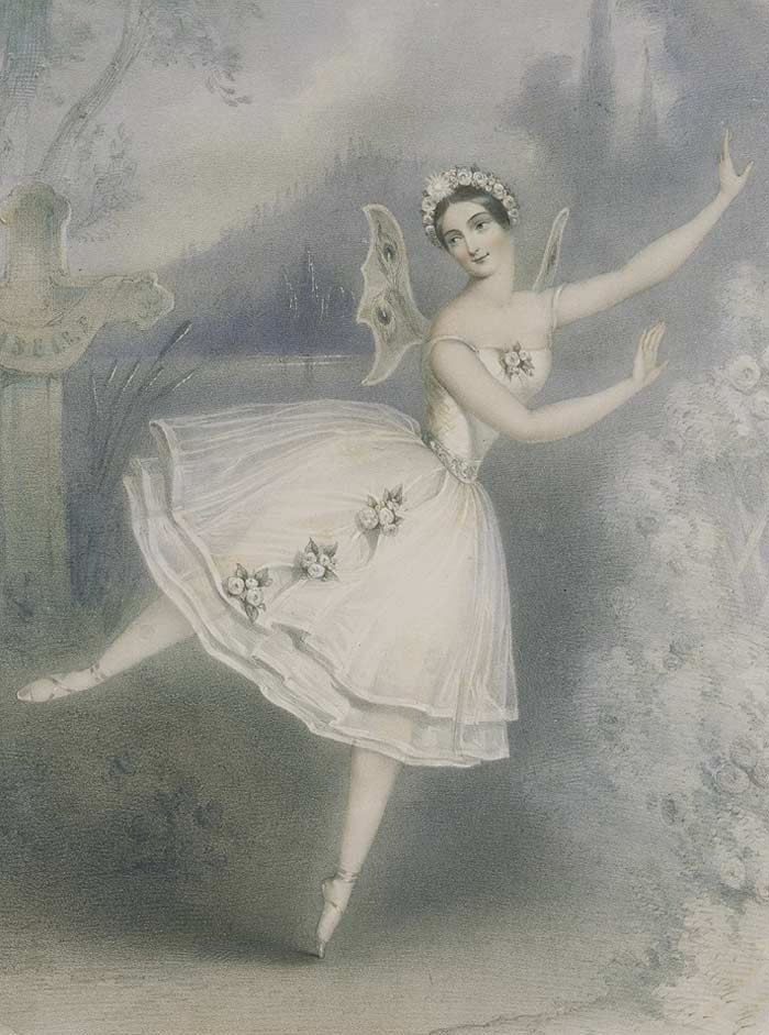 """Карлотта Гризи в балете """"Жизель№"""""""