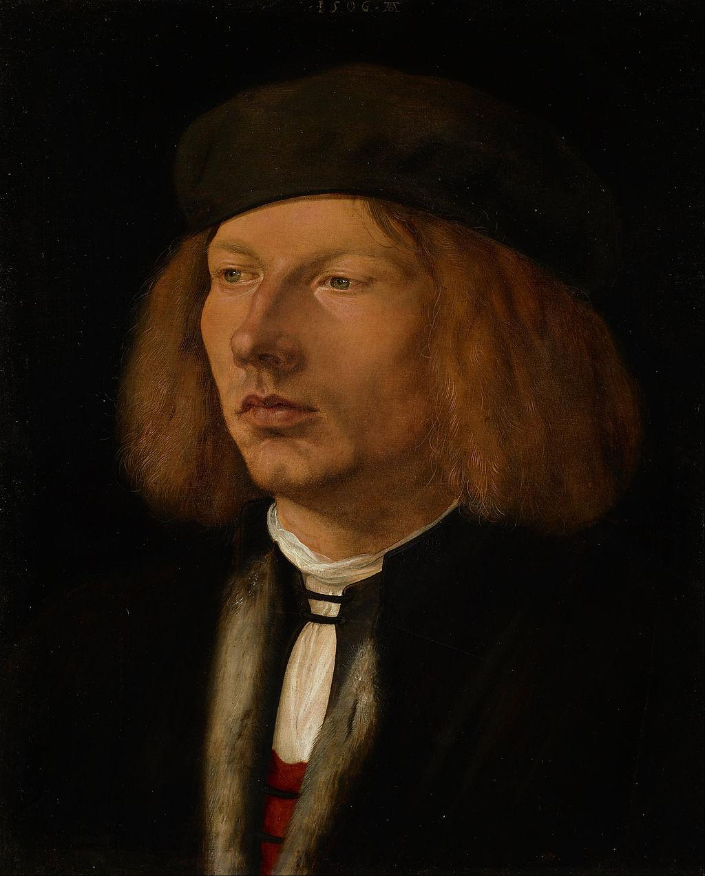 Альбрехт Дюрер. Портрет Буркхарда Шпеера. 1506