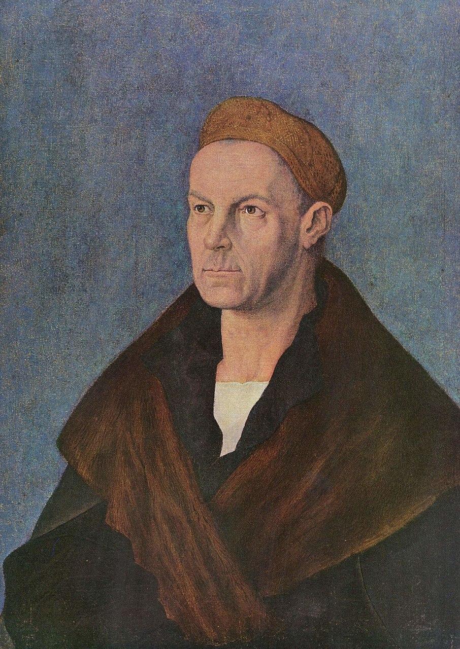 Альбрехт Дюрер. Портрет Якоба Фуггера. 1518