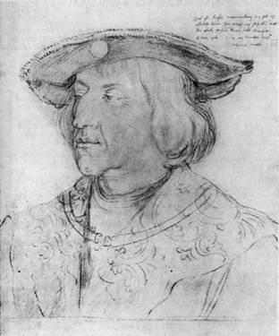 Альбрехт Дюрер. Портрет императора Максимилиана I. 1518