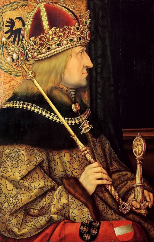 Ганс Бургмайр Старший. Портрет императора Фридриха III