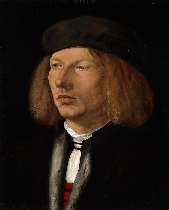 Альбрехт Дюрер. Портрет Буркхарда фон Шпеера. ок.1506