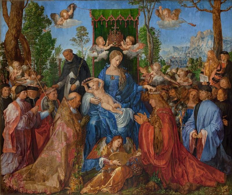 Альбрехт Дюрер. Праздник четок. ок.1506