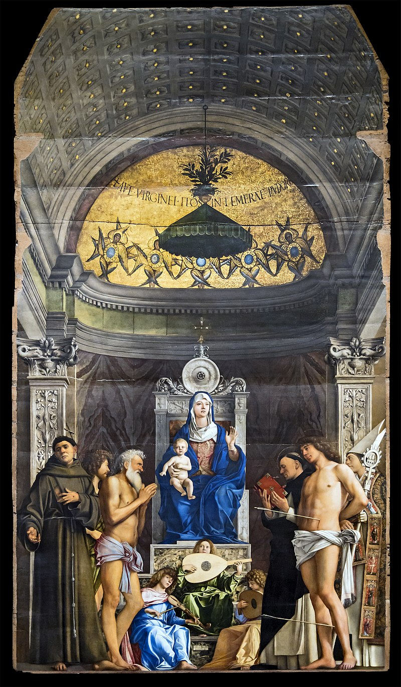 Джованни Беллини. Алтарь Сан-Джоббе. 1487