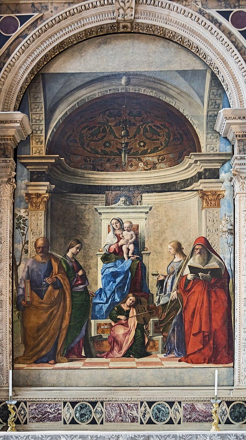 Джованни Беллини. Алтарь Сан-Дзаккария. 1505