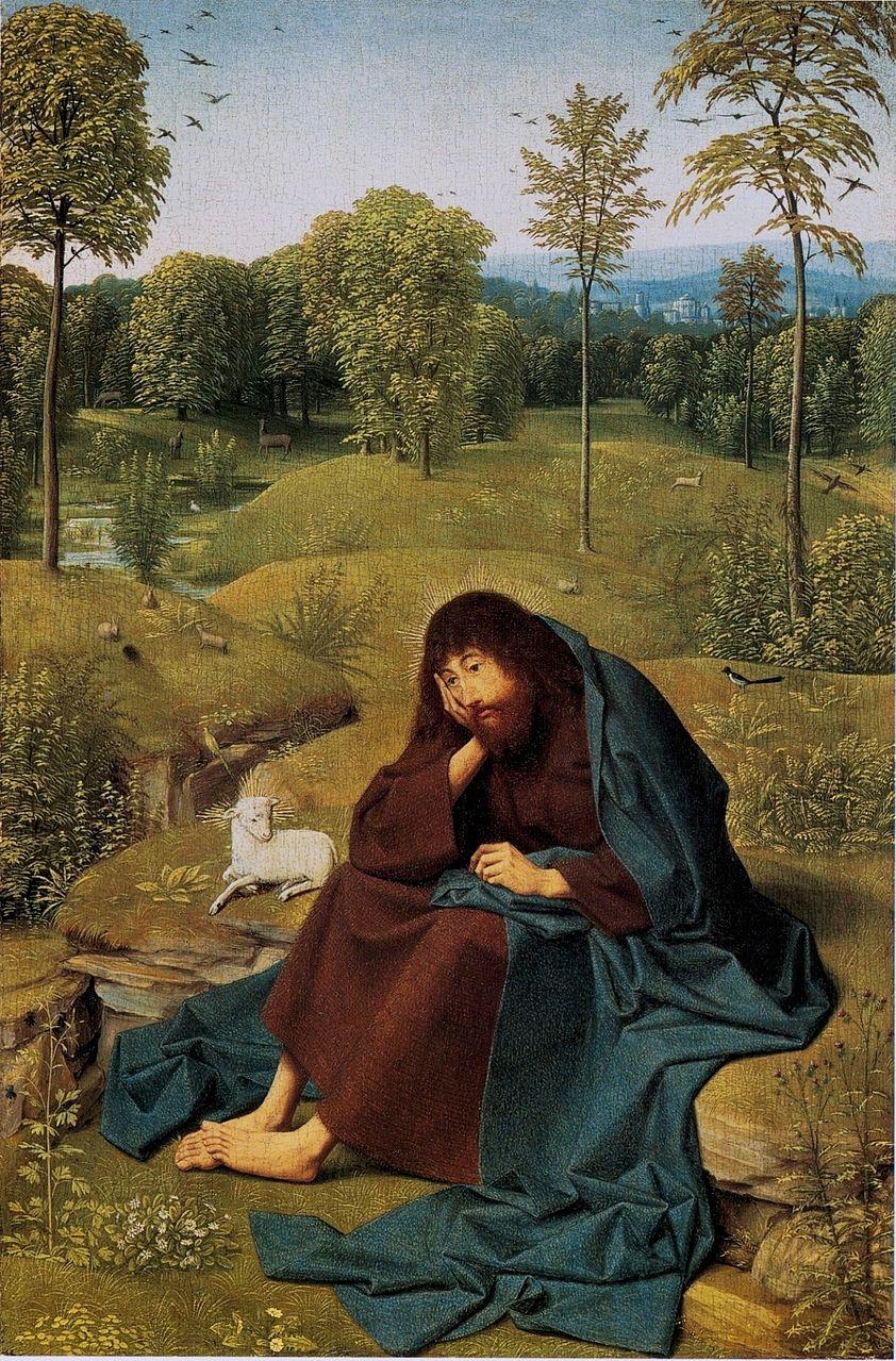 Гертген тот Синт Янс. Иоанн Креститель. Ок.1490