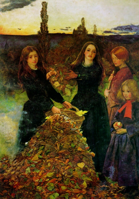 Джон Эверетт Миллес. Осенние листья. 1856