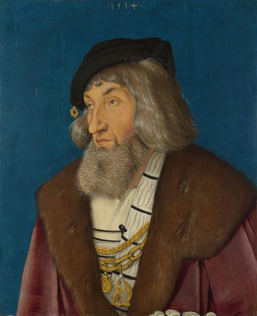 Ганс Бальдунг Грин. Портрет старика. 1514