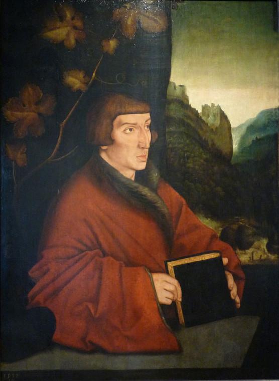 Ганс Бальдунг Грин. Портрет Амброзиуса Волмара Келлера. 1538