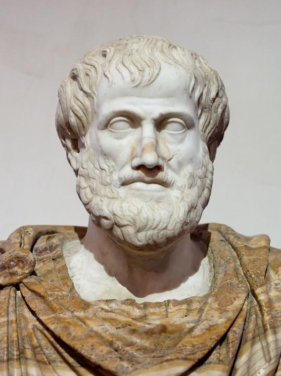 Аристотеля. Римская копия с оригинала работы Лисиппа. после 330 г. до н. э.