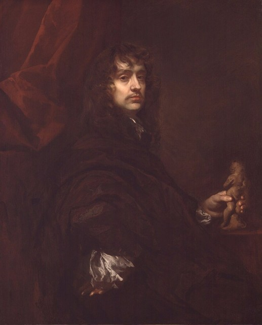 Питер Лели. Автопортрет. 1660-е