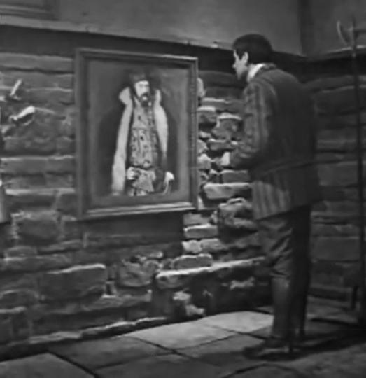 """Кадр из телефильма """"Собака Баскервилей"""". Россия, 1971"""
