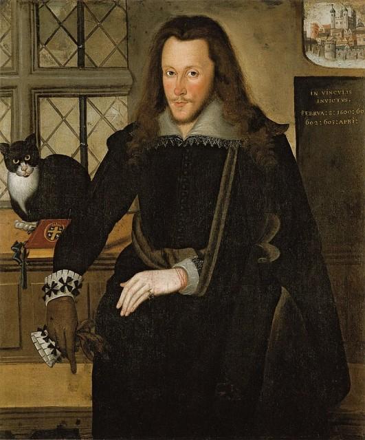 Джон де Критц. Генри Ризли, 3-й граф Саутгемптон во время заключения в Тауэре. 1603