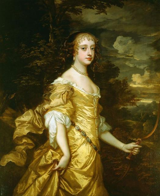 Питер Лели. Портрет Фрэнсис Терезы Стюарт, герцогини Ричмондской. ок.1662