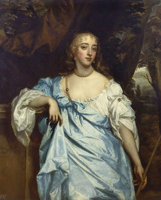 Питер Лели. Портрет Мэри Баго, графини Фалмут и Дорсет. 1664-65