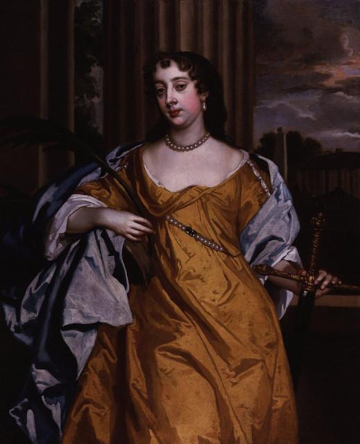 Питер Лели. Барбара Палмер, 1-я герцогиня Кливленд, графиня Каслмейн (урожденная Вильерс). ок.1666