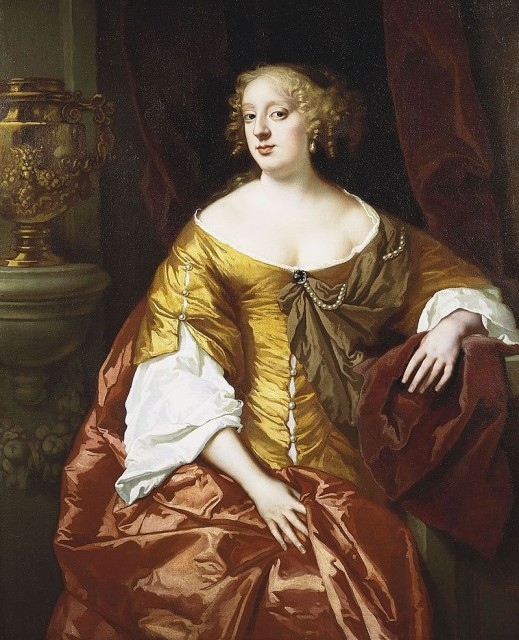 Питер Лели. Портрет Энн Дигби, графини Сандерленд. До 1666