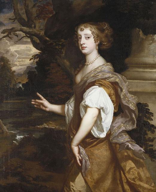 Питер Лели. Портрет Элизабет Райотсли, графиня Нортумберленд, 1669 (?)