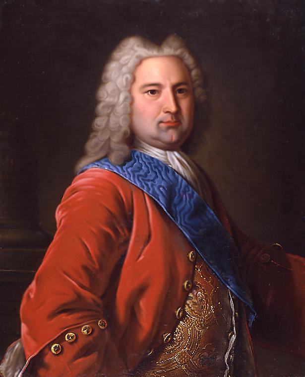 Неизвестный художник сер.18 в. Портрет Эрнста Иоганна фон Бирона