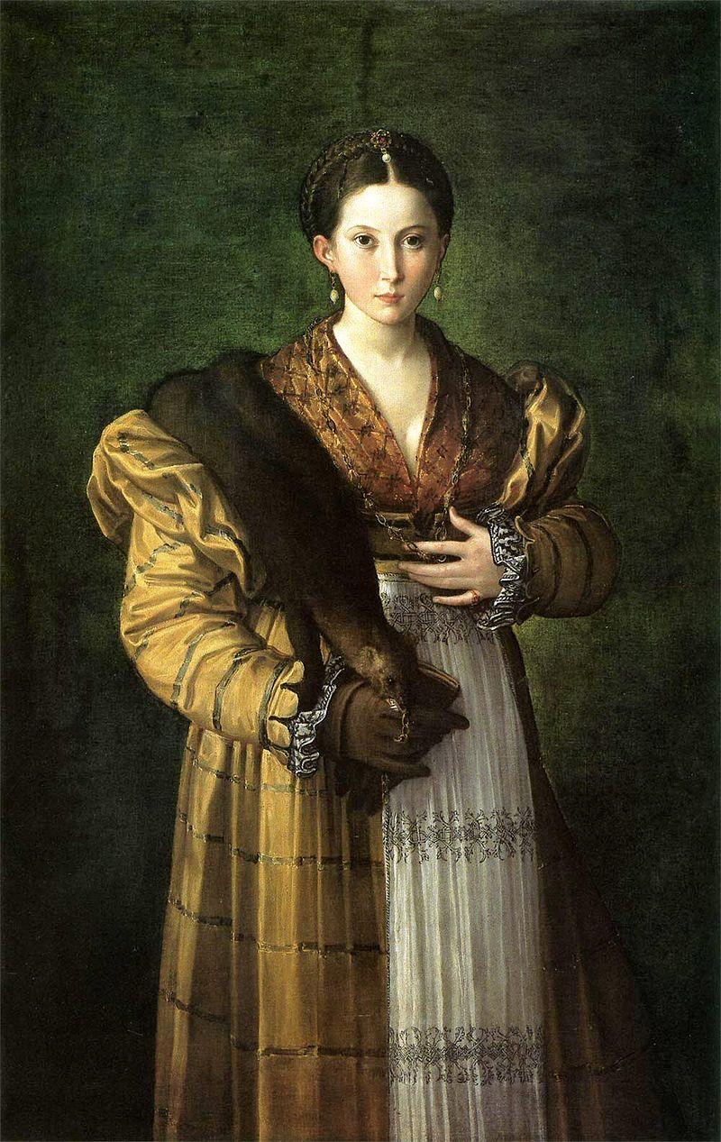 Пармиджанино. Антея. 1535-1537