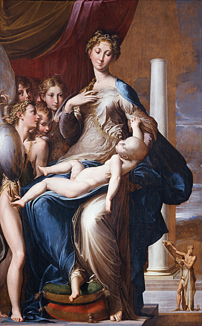 Пармиджанино. Мадонна с длинной шеей. ок.1535