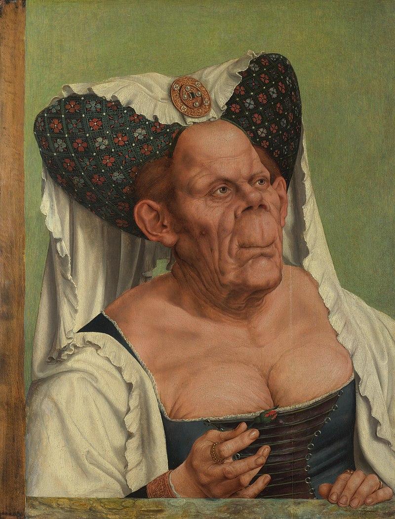 Квентин Массейс. Безобразная герцогиня. ок.1513