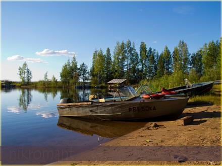 Селигер. Лодки.