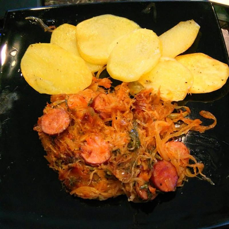 бигос и картофан
