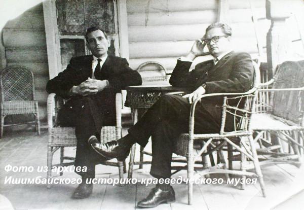 Б.Н. Подосинкин и И.С. Игнатьев