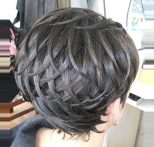 Прически на короткий волосы укладки