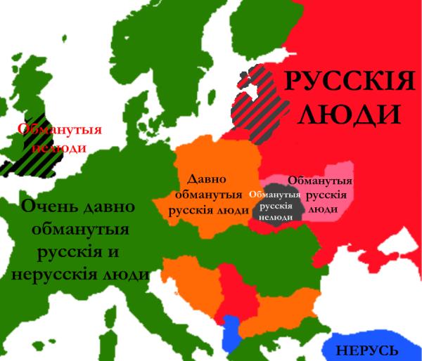 русскиенерусские