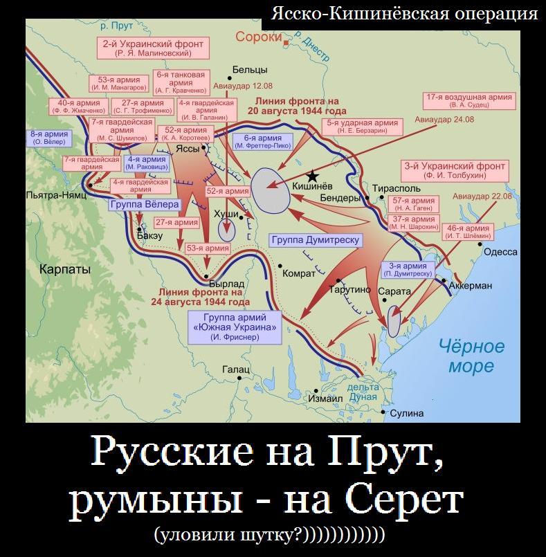 русские и румыны