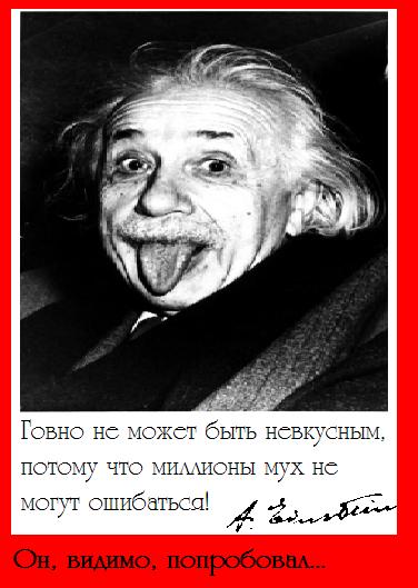 Эйнштейн и говно