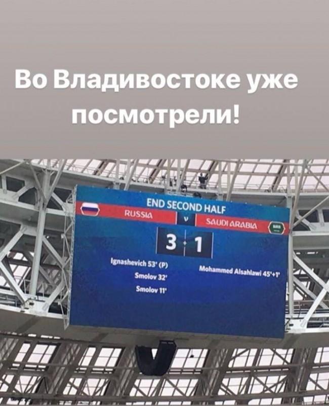 Владивосток результат