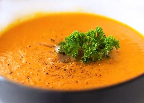 Индонезийский морковный суп