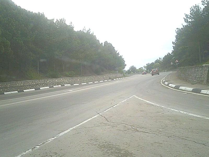 Южнобережное шоссе. На Ялту.