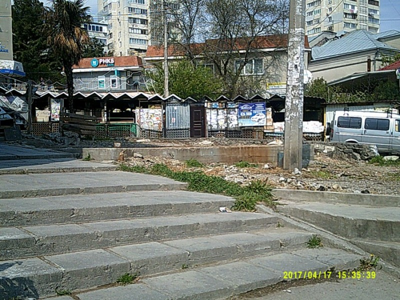 Кореиз. рынок до реконструкции.