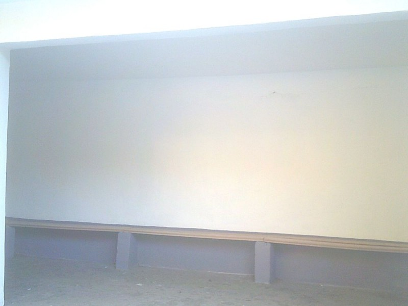 "павильон остановки ""Школа"" внутри, после ремонта"