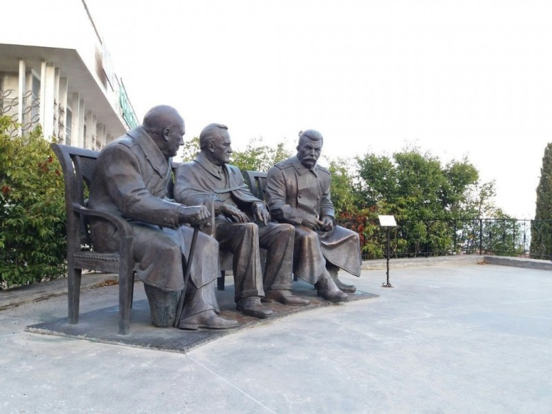 Сталин, Рузвельт, Черчилль